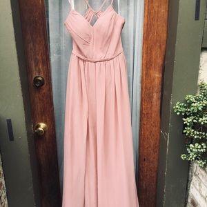 Dusty Rose Bridesmaids dress